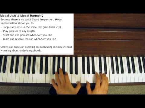 Modal Jazz Explained - Improvisation and Harmony - YouTube
