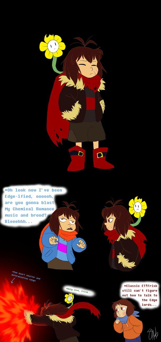 Enderfell Frisk by TC-96.deviantart.com on @DeviantArt