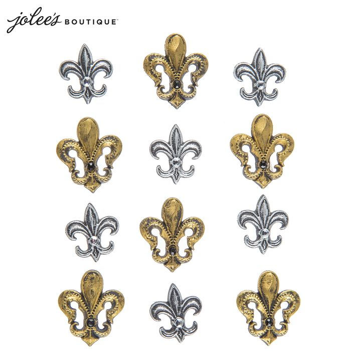Get Fleur-De-Lis 3D Stickers online or find other Stickers products from HobbyLobby.com