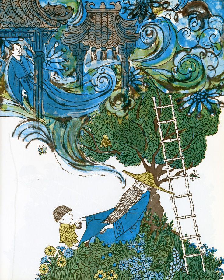 22 best favorite illustrators images on pinterest for Tikki tikki tembo coloring pages
