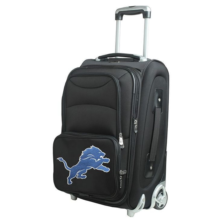 NFL Detroit Lions Mojo 21 Carry-On Luggage
