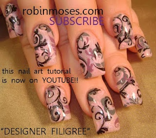 filigree nail art long nails  http://www.youtube.com/watch?v=d_D-RP5Di8Y