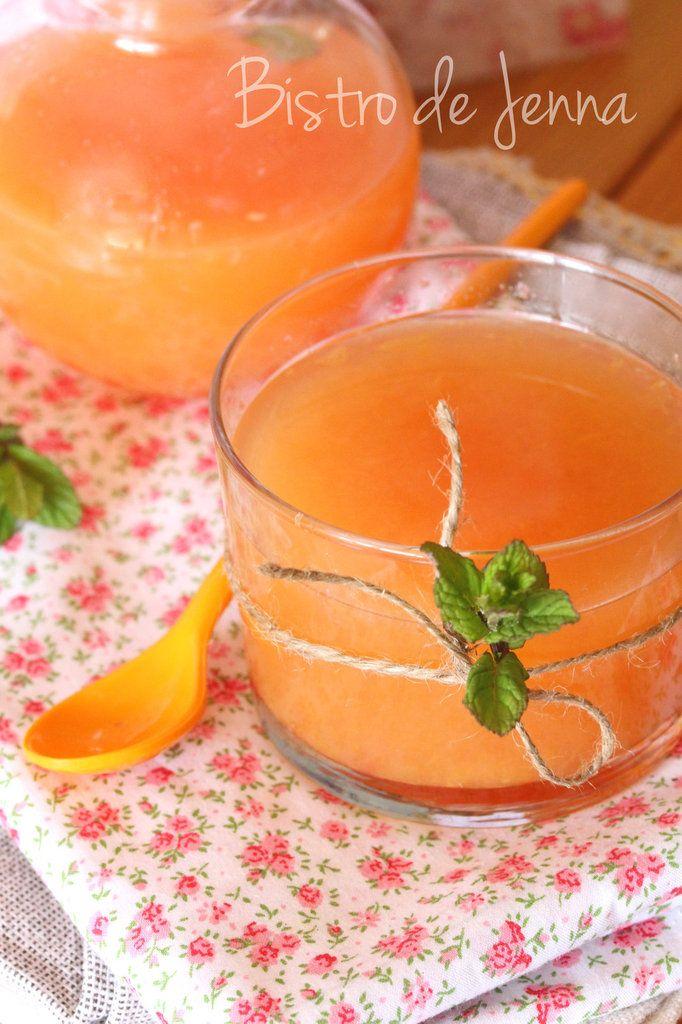 Jus de pamplemousse & thé vert et orange