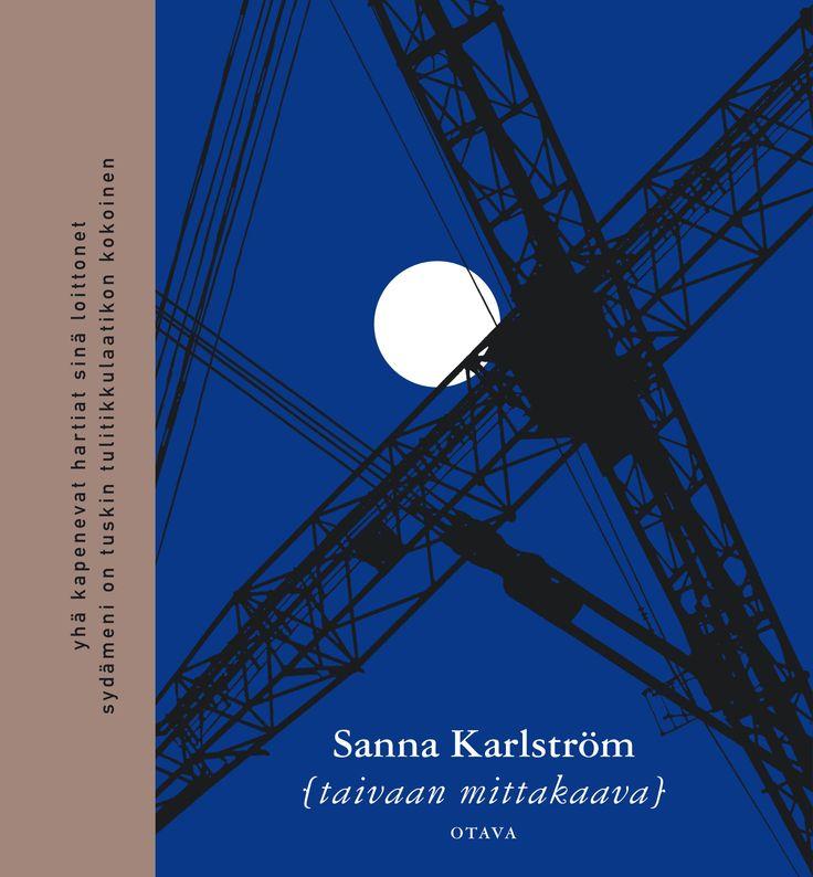 Title: Taivaan mittakaava | Author: Sanna Karlström | Designer: Timo Numminen