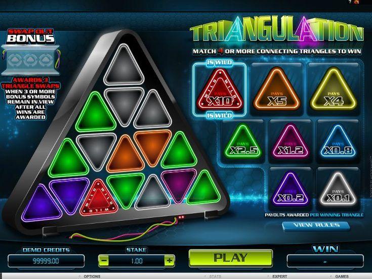 Desfrute do nosso novo online Jogo caça-níqueis Triangulation - http://cacaniqueis77.com/triangulation/ - http://cacaniqueis77.com