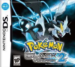 English Pokemon Black Version 2 Box Art