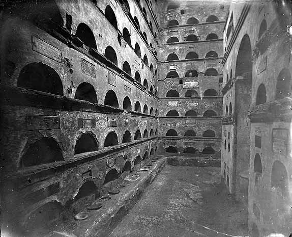 Via Appia (Rome, Italy), the first columbarium of Vigna ...