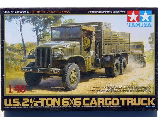 Maquette Tamiya 32548 US 2.5 Ton 6x6 Cargo Truck