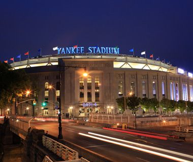 America's best baseball stadiums: YankeesWelcome to the modern-day coliseum. Though it's not The House That Ruth Built, the new Yankee Stadium still honors pinstripe legends. After all, the epic team has won more championships than anyone else in the major leagues. Stop by Monument Park, relocated from the original ballpark across the street, to pay homage to Babe Ruth, Lou Gehrig, and Mickey Mantle. And treat yourself to Torrisi's meatball parm sandwich in the Great Hall between gates 4…