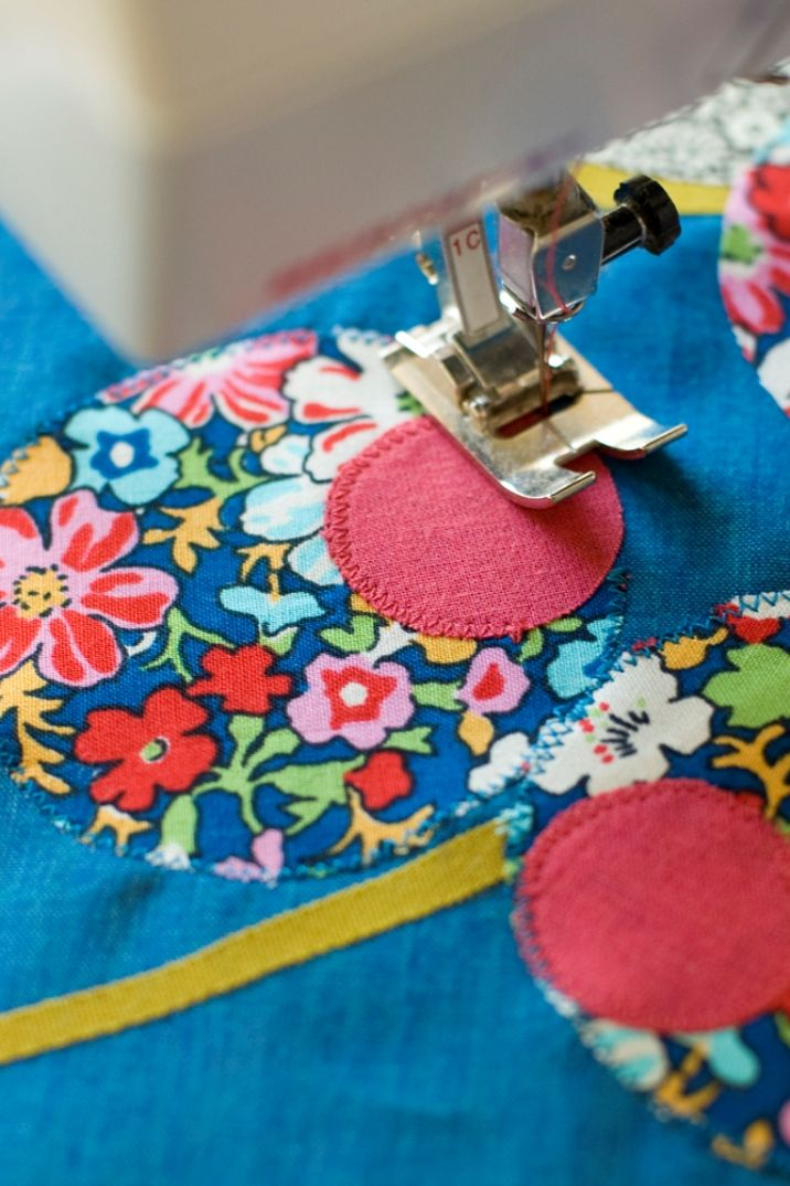 Tutorial para hacer aplicaciones (pegar con entretela y coser)