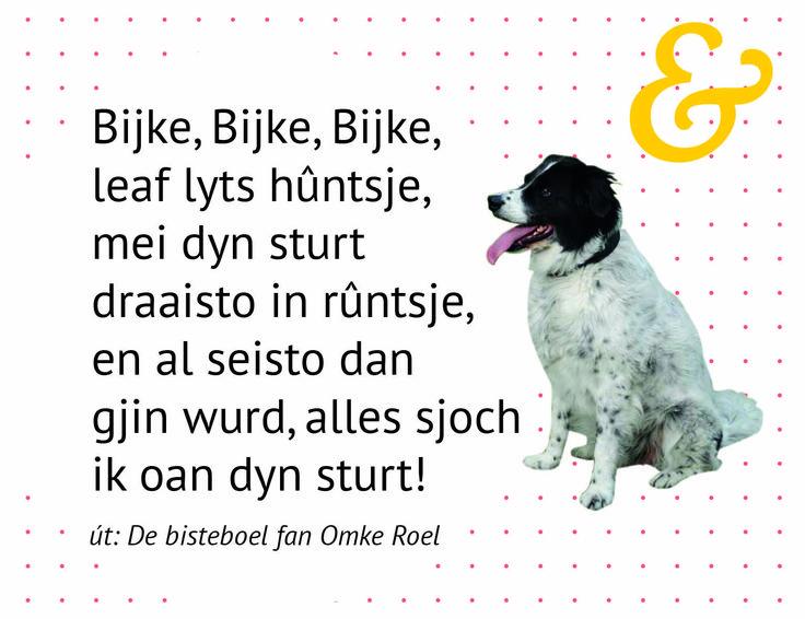 Beroemd 53 best Gedichtsjes en ferskes bern / Friese gedichten en liedjes  TG17