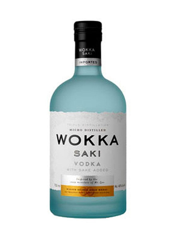 Wokka. Where do I pin this, is it #saki or #vodka #packaging : ) PD
