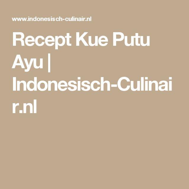 Recept Kue Putu Ayu | Indonesisch-Culinair.nl