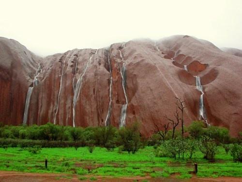 Uluru - Rain on the Rock - Alice Springs Northern Territory - Australia