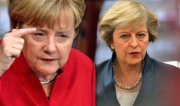 'We're still in charge here!' Germany orders Britain NOT to seal trade deals…