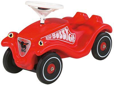 Big Bobby Car Classic Red ~1500  Классная немецкая машинка! Ее отличие от китайских аналогов - руль направляет колеса!