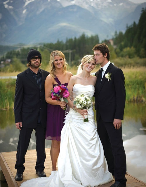 Sarah Burke's + Rory Bushfield's Wedding Remembered - so sorry Rory, she was the best.