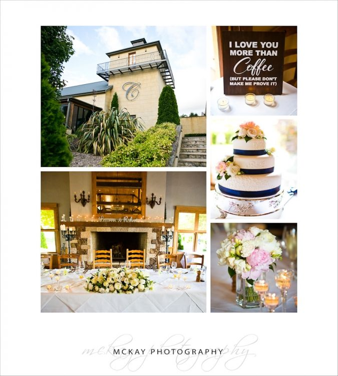 Centennial Vineyards Bowral wedding - Lauren & Rob.  Details of the main room at Centennial and table settings.  McKay Photography - http://www.mckayphotography.com.au