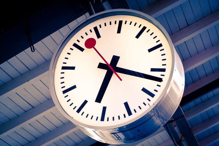 Swiss Railway Clock, Geneva.