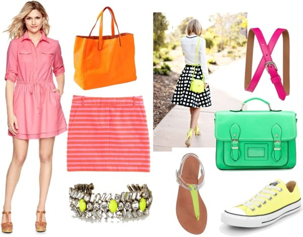Neon Fashion Finds