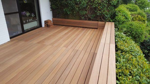 Holz Terrasse Holz Für Garten Und Terrasse Bangkirai Terasse ...