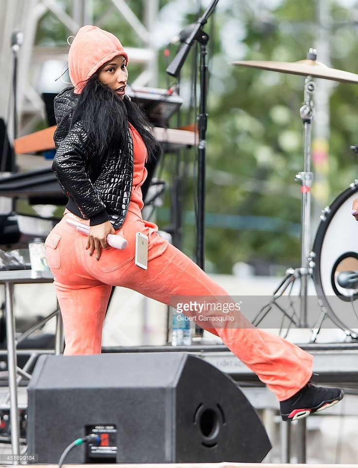 Rapper Nicki Minaj performs during soundcheck at the 2014 Philly 4th Of July Jam on July 4, 2014 in Philadelphia, Pennsylvania.