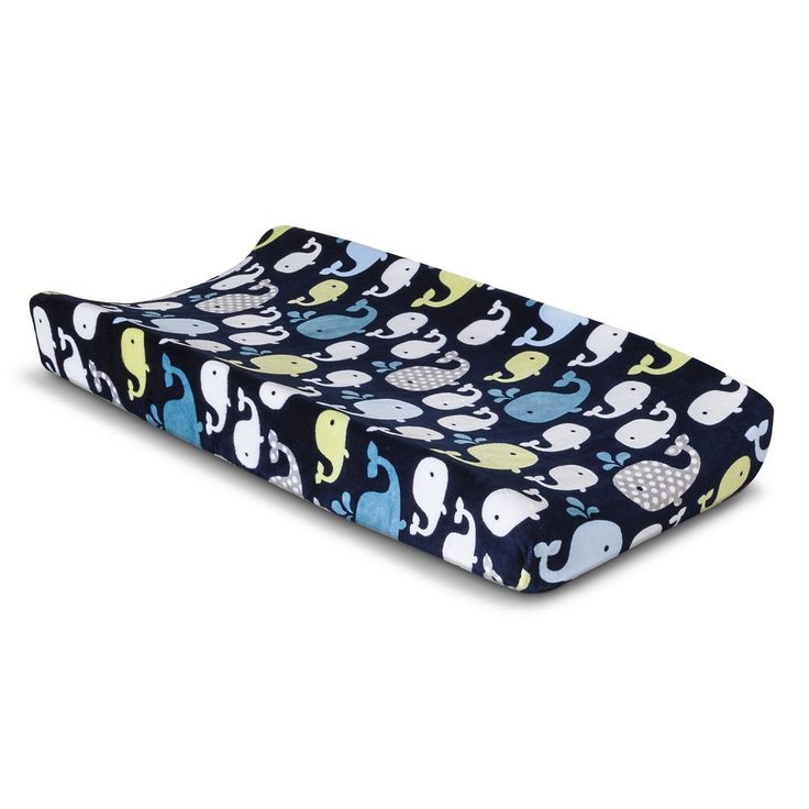 Circo� Whales n� Waves Changing Pad Cover