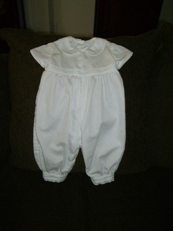 Christening Suit by seamstobeads on Etsy, $45.00