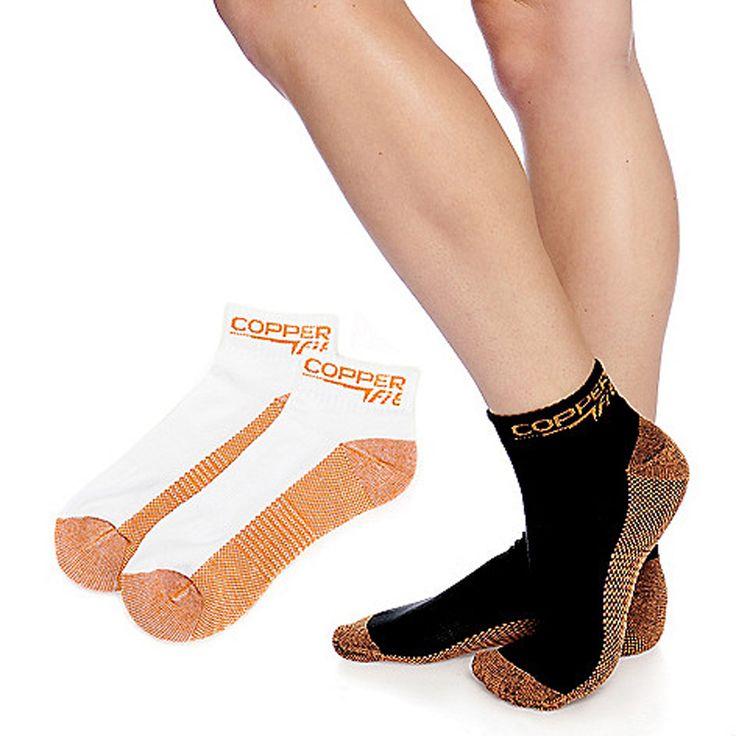 Copper Fit Unisex Sport Socks