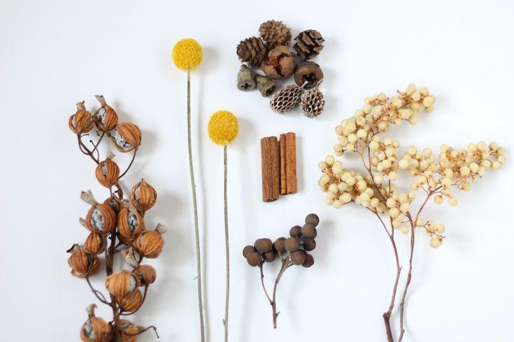 FLEURI (フルリ)| ドライフラワー dryflower ペッパーベリー クラスペディア 月桃 木の実