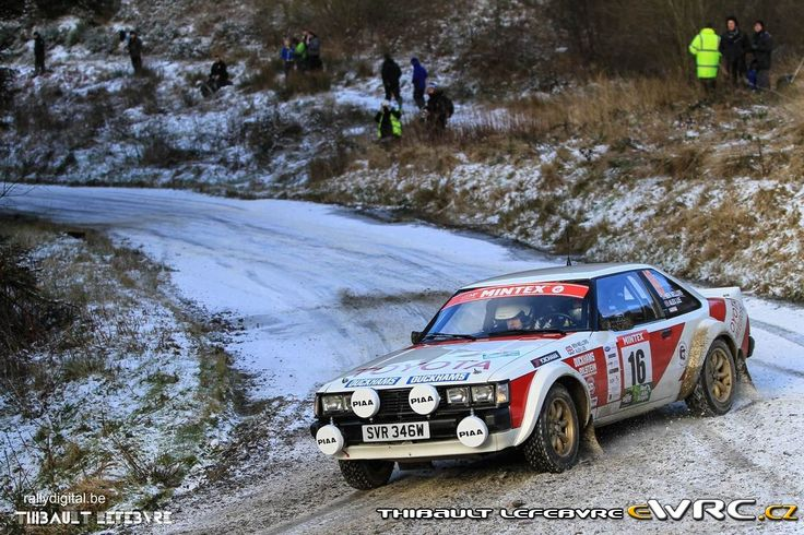 Toyota Celica RA40 2015 Red Kite Historic Stages