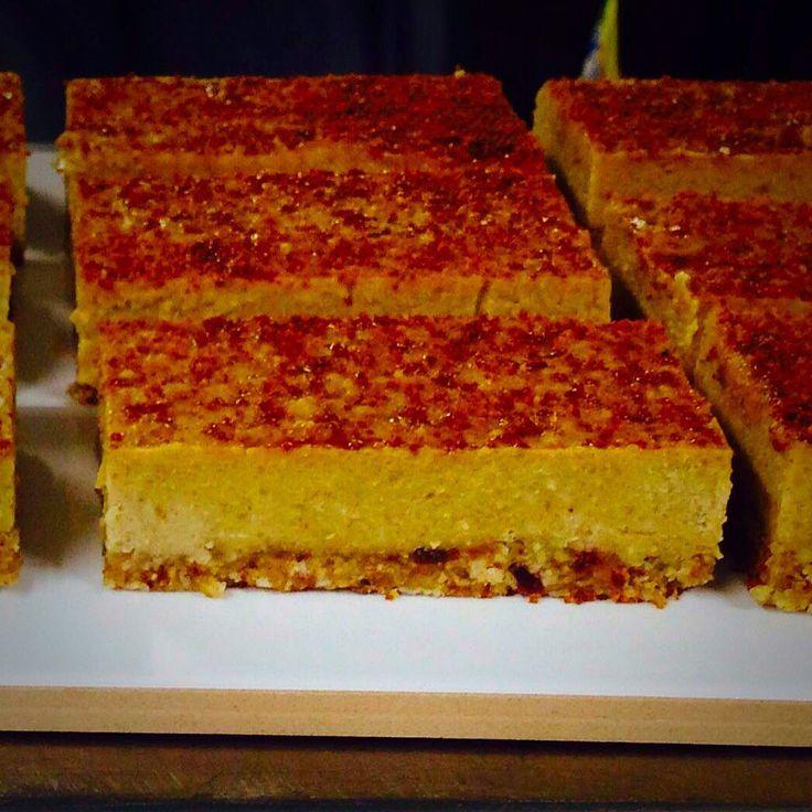 Gluten free dairy free unbaked ginger slice