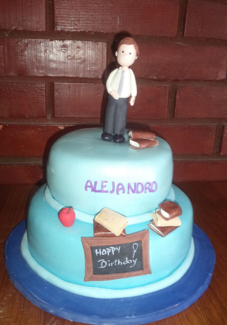 #Teacher #cake creada por @VolovanProductos