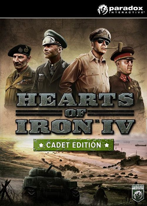 Hearts of Iron IV Cadet Edition Steam CD-Key  Description: Hearts of Iron IV Cadet Edition Steam CD-Key  Price: 26.99  Meer informatie  #SCDkey
