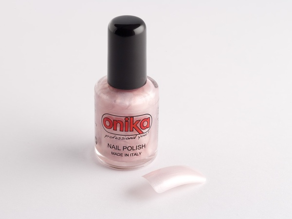 Smalto per unghie rosa perlato - 10 ml.