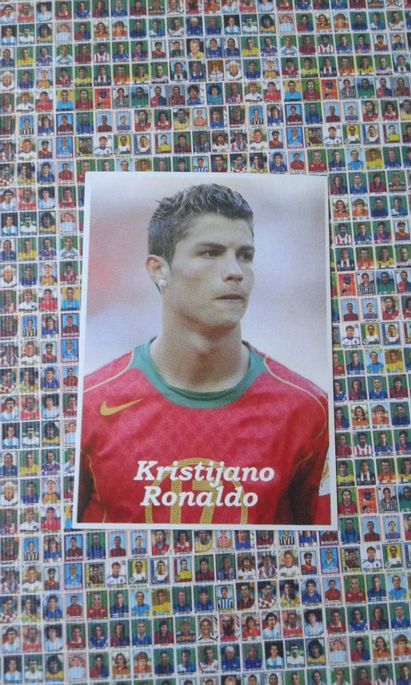 Cristiano Ronaldo World Cup 2006 As Sport Serbian Portugal 226 Portugal Soccer Cards Baseball Cards Sports Cards