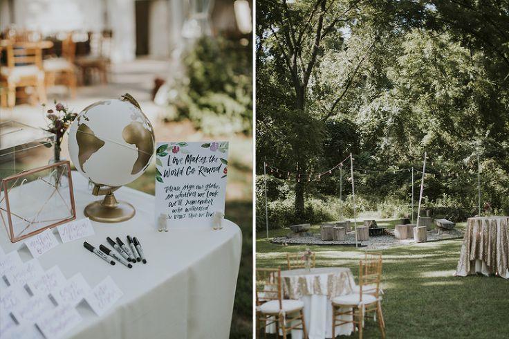 guestbook ideas // Anthony Wayne House Wedding,Philadelphia