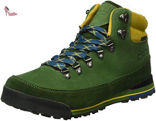 CMP Heka, Chaussures de Trekking et Randonn&Eacutee Homme, Vert-Grün (Leaf  F953