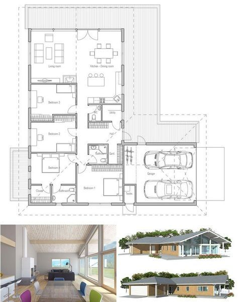 Best 25 two car garage ideas on pinterest garage plans for Small two car garage