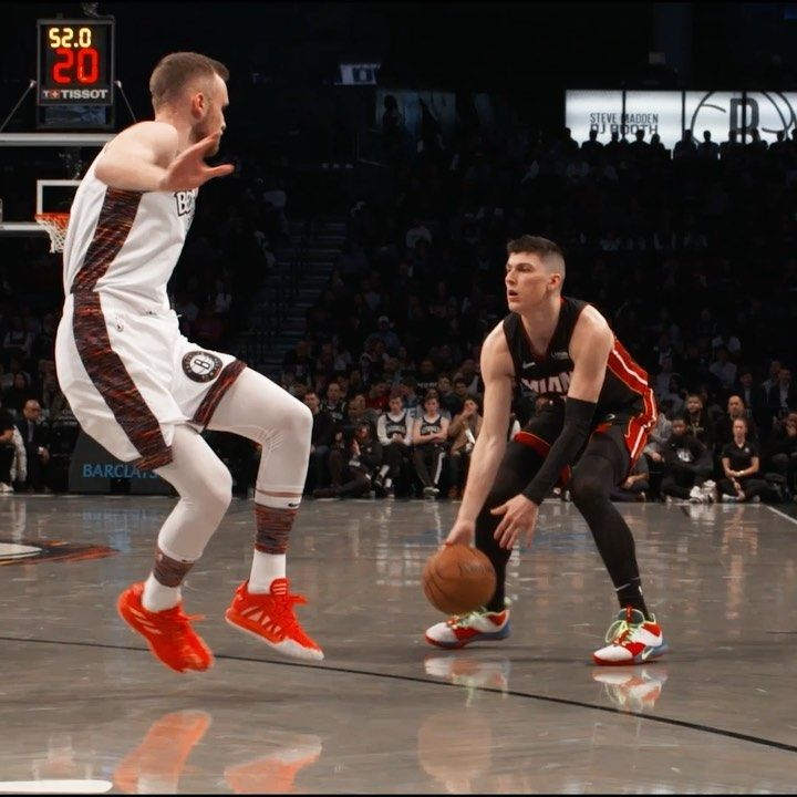 Miami Heat Well Snatching Ankles Is One Way To Create Separation In 2020 Miami Heat Nba Miami Heat Thunder Nba