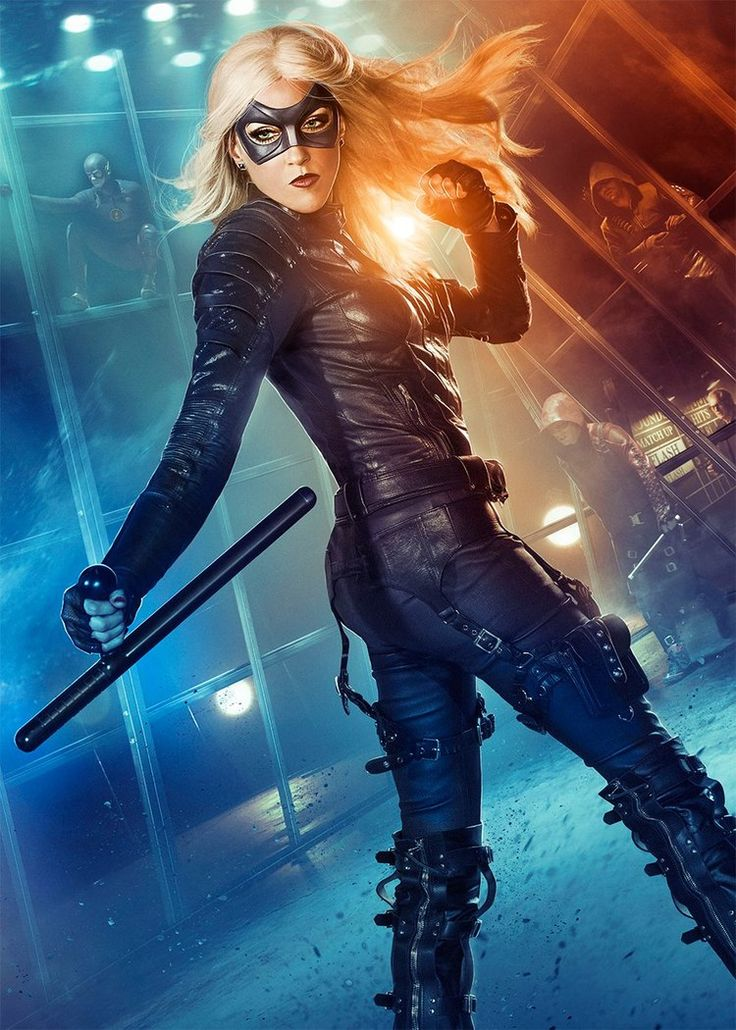 DC Television Universe - Black Canary (Arrow-Flash)