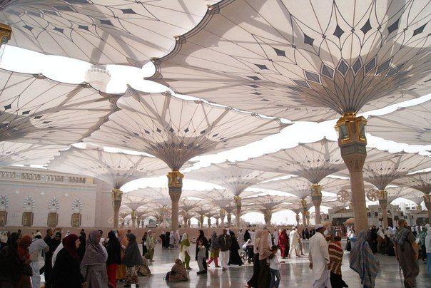 Защита от солнца в городе Медина, Саудовская Аравия