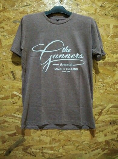 #ArsenalFC series   The Gunners Typo   For more info and order  SMS/WA +628888526003 Call +622141514266