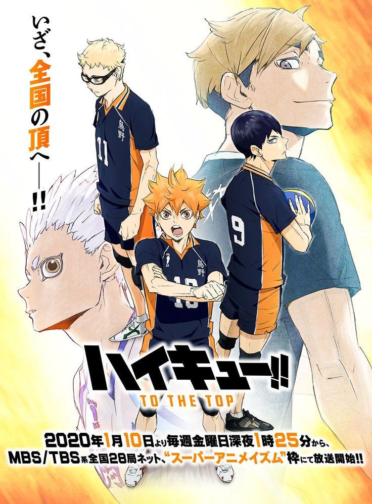 Pin by kt on Anime in 2020 Haikyuu, Haikyuu anime