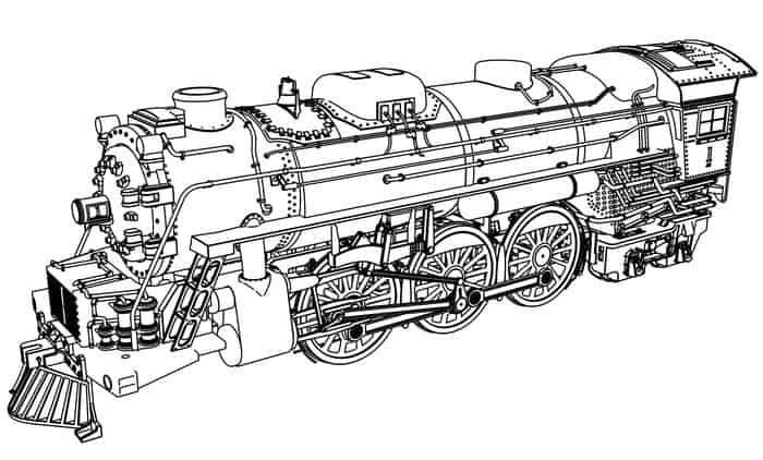 Diesel Train Coloring Pages In 2020 Train Coloring Pages Truck Coloring Pages Coloring Pages