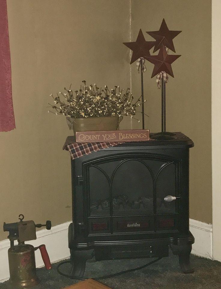 Electric Coal Stove