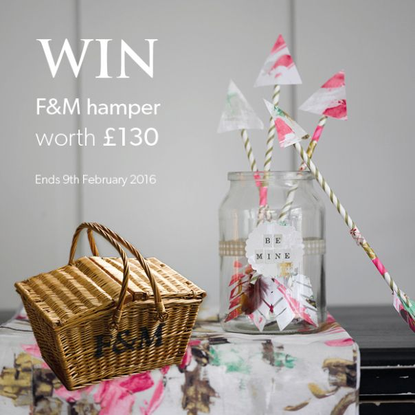 Enter our Competition today to win a Valentine's Day Fortum and Mason Hamper. Source: Enter Competition / Christy Towels - UK