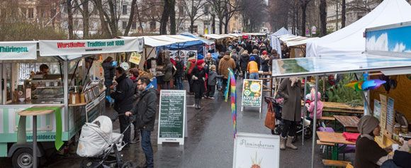 Berlin - Green Christmas Market on Kollwitzplatz - visitBerlin.de EN