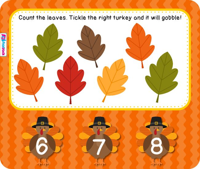 Leaf Counting Smart Board Freebie