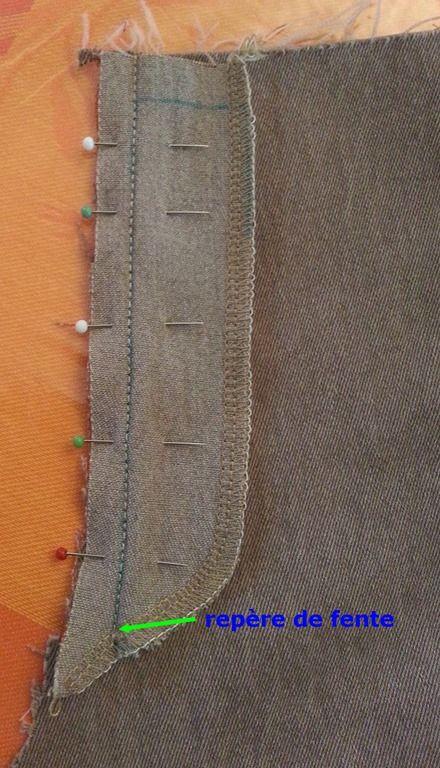 Plus de 25 id es uniques dans la cat gorie patron pantalon femme sur pinterest diy pantalon - Faire un ourlet de pantalon ...